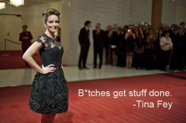 WASHINGTON, DC-NOVEMBER 09: Tina Fey arrives on the red carpet i