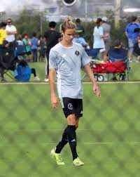 Romeo Beckham is the spitting image of dad David as he plays football in  Florida - Mirror Online