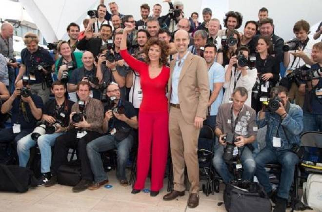 "Cannes: ""Voce Umana"" Photocall 67th Annual Cannes Film Festival-"